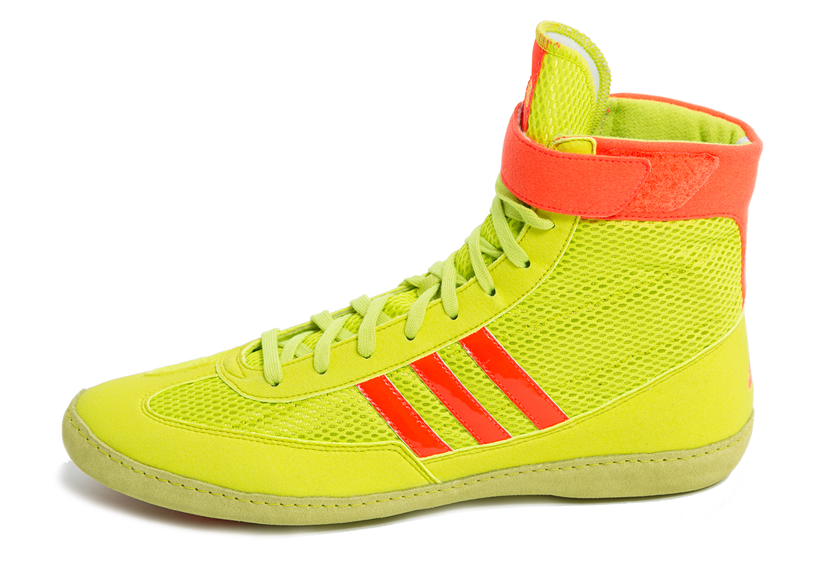 ... free shipping adidas mm combat speed wrestling shoes color yellow  orange 8a634 a9743 0c648c9b8