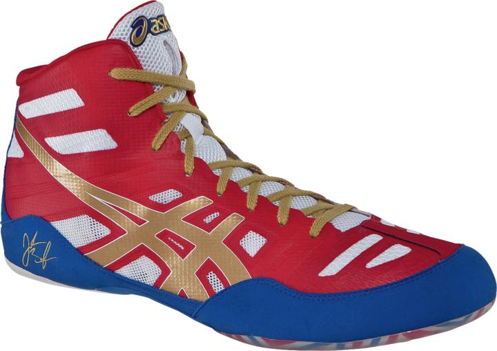 Adidas Response 3.1 Wrestling Shoes, color: BlackRedGold
